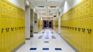 high-school-school-hallway-lockers-stock
